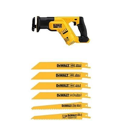 Dewalt DCS387B 20-volt Max Cordless Compact Reciprocating Saw Tool (Tool Only), 14-Inch from DEWALT