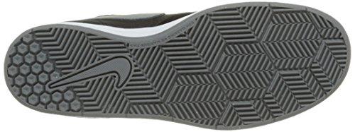 Nike Sb Fokus (Gs), Zapatillas de Skateboarding para Niños Negro / Gris (Black / Cool Grey-White)
