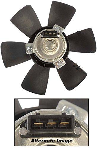 APDTY 732389 Radiator Cooling Fan Motor & Blade Fits 1985-1993 VW Cabriolet / 1993-1999 VW Golf / 1985-1999 VW Jetta / 1984 VW Rabbit Convertible / 1984-1988 VW Scirocco (OE - Motor Fan Golf Radiator Blade