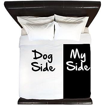 Amazon Com Cafepress Dog Side My Side King Duvet Cover
