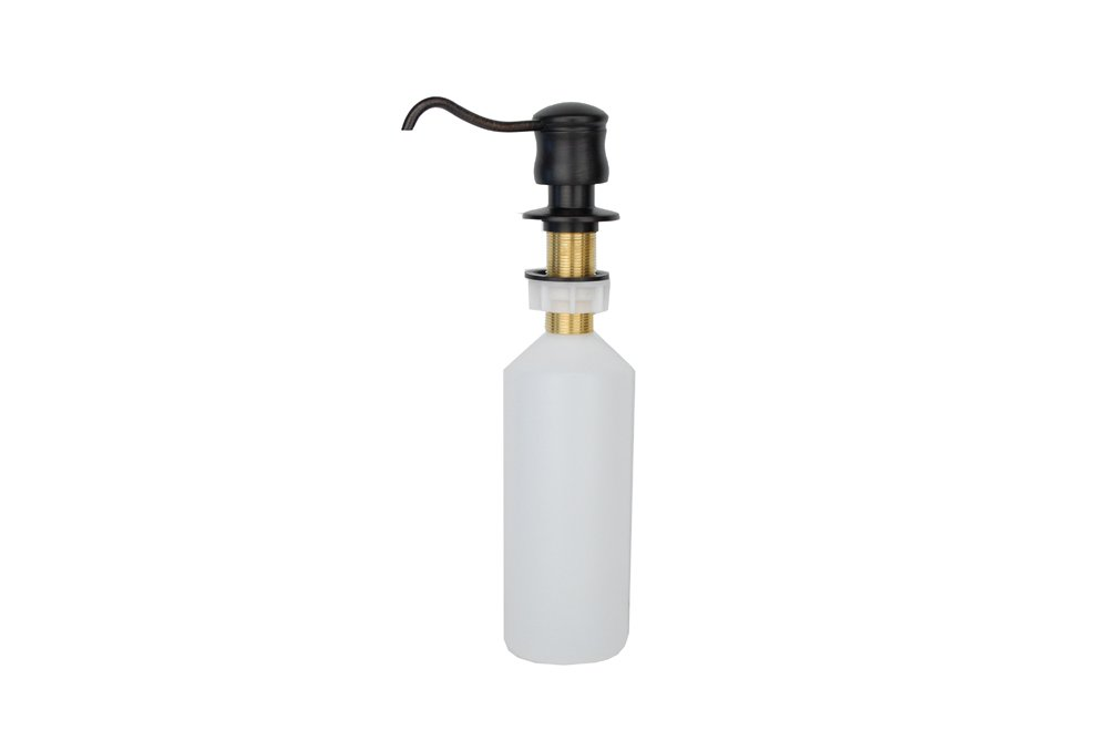 Premier Copper Products PCP-701ORB Solid Brass Soap and Lotion Dispenser, Oil Rubbed Bronze