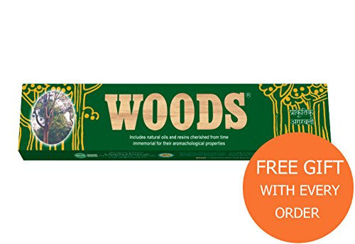 Sticks Whiff (Premium Incense Sticks Woods Cycle Agarbatti 45 Sticks)