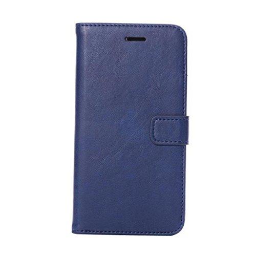 iPhone 6 Hülle,Apple iPhone 6 Hülle (4.7 Zoll) Lifetrut®[FM blau] Schutzhülle Flip PU Ledertasche Ständer Schutzhülle Tasche Hülle Case Cover mit Kreditkartensteckplätze für Apple iPhone 6 (4.7 Zoll)