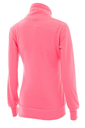 Pull Longues Manches rose Femme Pull fluo Simran AZq6f