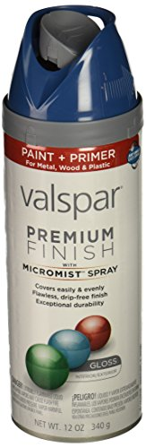Valspar 85032 Premium Enamel Spray Paint, Deep Sea Diving Gloss, 12 oz.