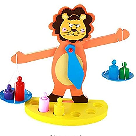 82e6bb5f275f Amazon.com: DreamsEden Wooden Balance Weight Scale Toy, Funny ...