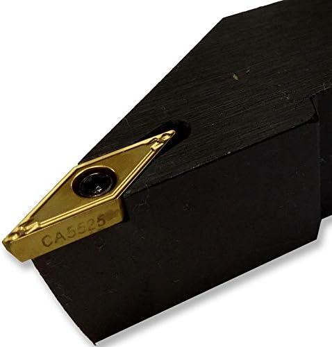 GENERICS LSB-Werkzeuge, 16 * 16 20 * 20 SVJCR1212H11 CNC-Außendrehwerkzeughalter Drehbearbeitung Mähbalken Klemmstahl-Werkzeughalter Bohrdorn (Farbe : SVJCR2525M16)