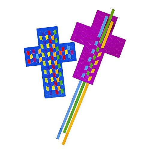 Roylco R16005 Roylco Cross Weaving Mats 24-pkg
