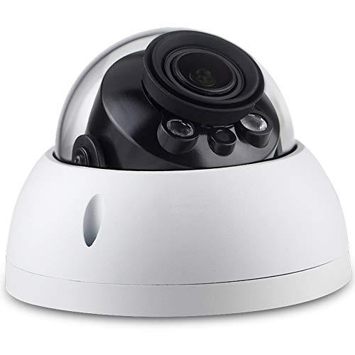 4MP Dome IPC-HDBW4433R-ZS IP PoE Camera,IR 165foot,2.7mm~13.5mm Motorized Varifocal Lens Optical Zoom,H.265 ONVIF,SD Slot,Outdoor Security Network Surveillance CCTV,IK10,IP67 -