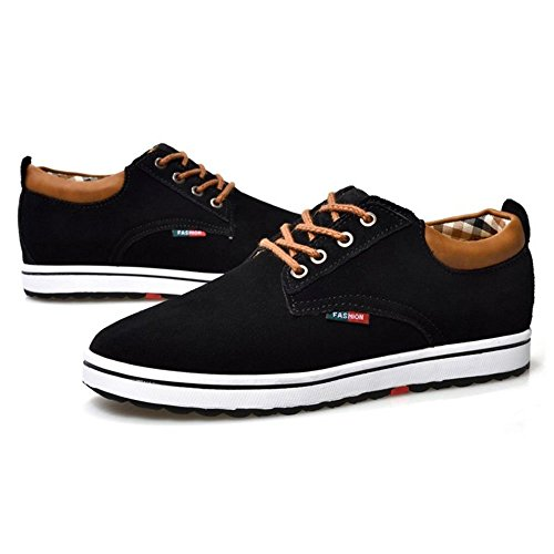 Chaussures À Coolcept Casual Homme Noir Lacets 8wOPXkn0