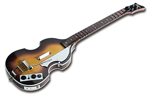 The Beatles: Rock Band X360 Wireless Hofner Bass Guitar Controller (Xbox 360 Les Paul Wireless)