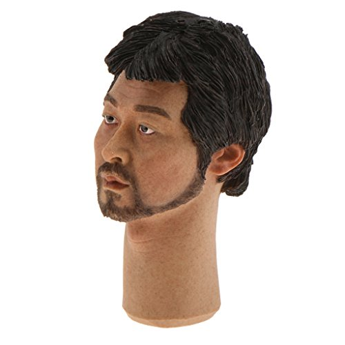 Asian Carving (Dovewill 1/6 Famous Star Head Sculpt Head Carving for 12