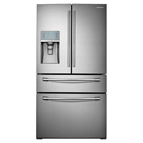 SAMSUNG RF30HBEDBSR French Door Refrigerator, 29.5 Cubic Feet, Stainless Steel (Samsung Smart Fridge compare prices)