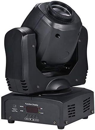 ステージライト 総電力120WのLEDムービング・ヘッドステージライト9 / 15CH 4ファセットプリズム回転スポットライト8つのパターンの色DMX512サウンド活性化 投影ライト
