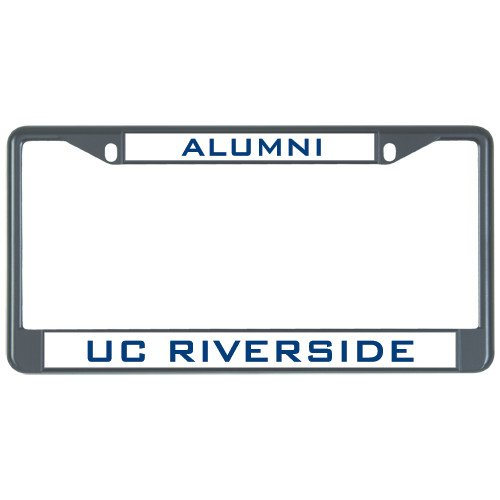 Riverside Metal (UC Riverside Alumni Metal License Plate Frame in Black 'Alumni')