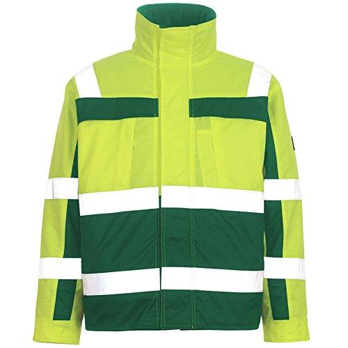 Mascot Pilotenjacke Timon, 1 Stück, 5XL, gelb/grün, 07123-126-1703-5XL