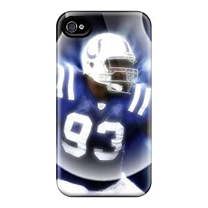 Indianapolis Colts Cases Compatible With Iphone 4/4s/ Hot Protection Cases