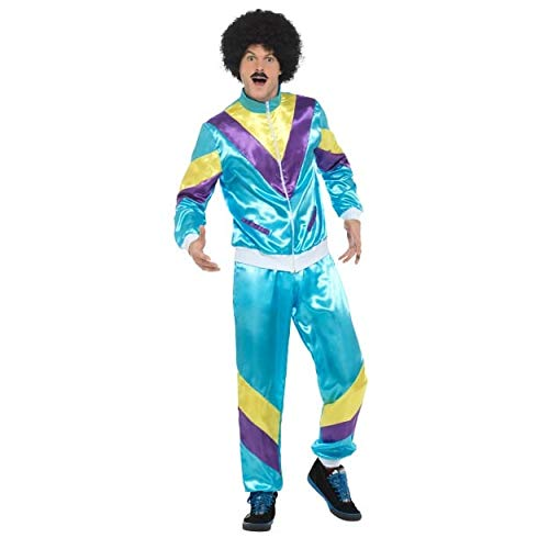 Costumes From The 80 S (Smiffys 80s Height of Fashion Shell Suit)