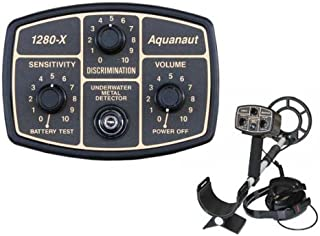 """product image for Fisher 1280-X Aquanaut Metal Detector with 10"""" Search Coil"""