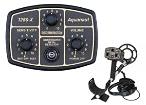 "Fisher 1280-X Aquanaut Metal Detector with 10"" Search Coil"