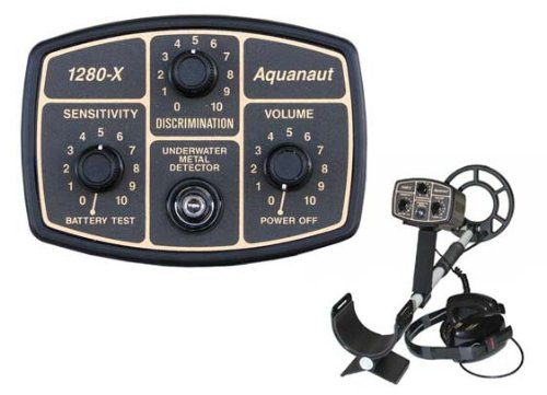 10 Search Coil (Fisher 1280-X Aquanaut Metal Detector with 10