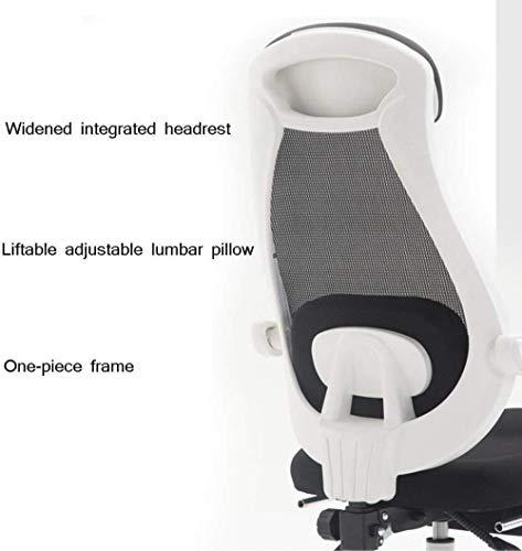 Barstolar Xiuyun kontorsstol spelstol, ergonomisk vilstol höjd justerbar ergonomisk datornät vilstol hem svängbar stol med fotstöd