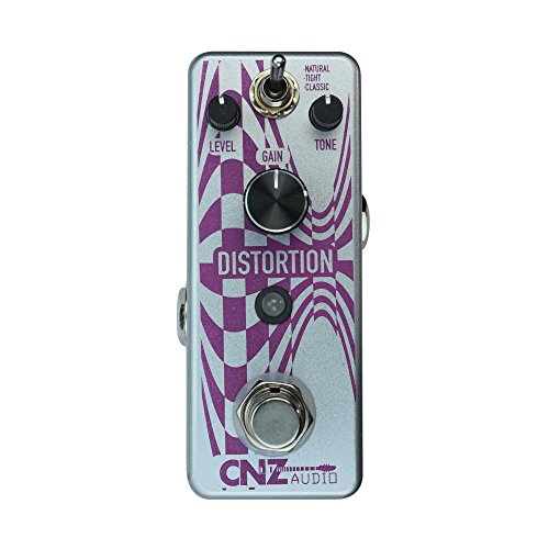 CNZ Audio Distortion Guitar Effects Pedal , True Bypass