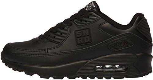 SN801 Unisex Casual Fashion Sports Air Kissen Sneakers Schwarz
