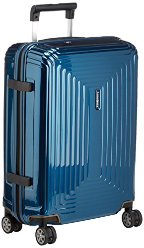 Samsonite Neopulse - Spinner S (Ancho 20 cm) Equipaje de Mano, 55 cm, 38 L, Azul (Metallic Blue)