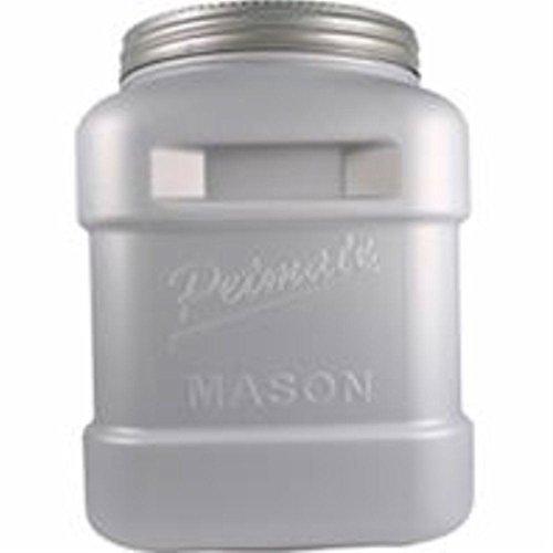 40 Lb Storage (Petmate Mason Jar, Stores Food Up to 40-Pound)
