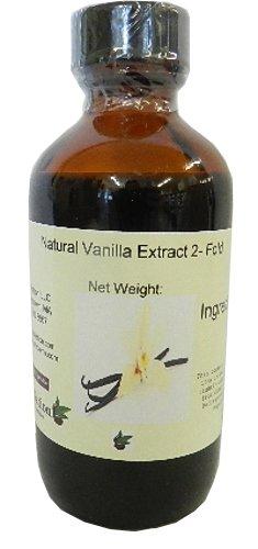 Fold Tahitian Extract Vanilla - OliveNation 2 Fold Extract, Vanilla, 4 Ounce