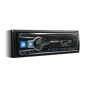 Alpine Electronics UTE-92BT Bluetooth Car Radio 1 DIN
