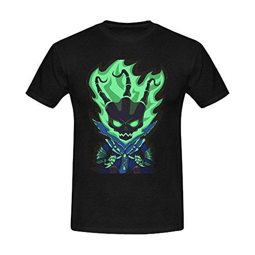 League of Legends the Chain Warden Thresh Men's Crew Neck Short Sleeve T-Shirt