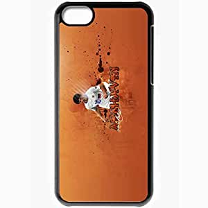 Personalized iPhone 5C Cell phone Case/Cover Skin Andrei Arshavin UEFA Football Black