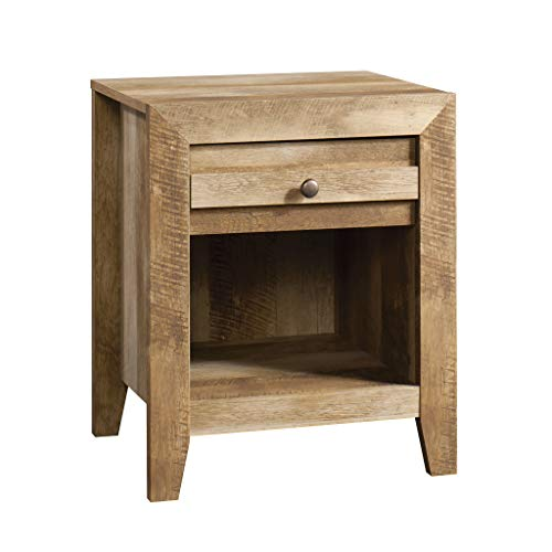 Sauder 418176 Dakota Pass Night Stand, L: 20.32″ x W: 16.54″ x H: 24.45″, Craftsman Oak finish