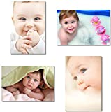 women pictures - 4X Babyhood Baby Kids Boys Child Cute Mother Mom Mama Pregnancy Wall Silk Poster Big Room Prints 20x13
