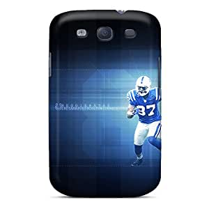 Tpu Rockcases Shockproof Scratcheproof Indianapolis Colts Hard Case Cover For Galaxy S3