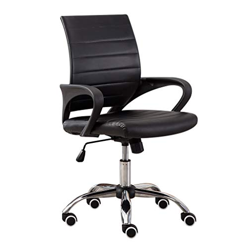 Ydida Fashion Function Comfortable Office Adjust Lift Chair Seat Height Backrest Chair Work Chair Leather Ergonomic Chairs Beauty Salon Chair