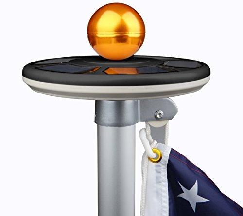 Sunnytech 3rd generation flagpole light