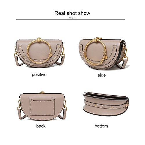 Ring Handbags Cute Bags Purse for Lune Normia Phone Women Shoulder Shell Girls For Rita Brown Wallet fYwX5qU