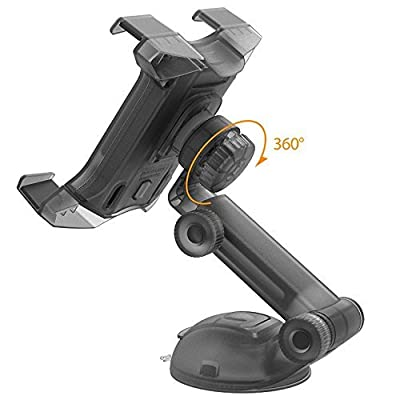 iOttie Easy Smart Tap 2 Universal Car Desk Mount Holder Stand Cradle for iPad Air/4/3/2 iPad Mini/Retina, Galaxy Tab 4/3, Nexus 7, Kindle Fire HD /7/6/ Fire HDX 8.9/7/ Fire 2 - Black: Computers & Accessories