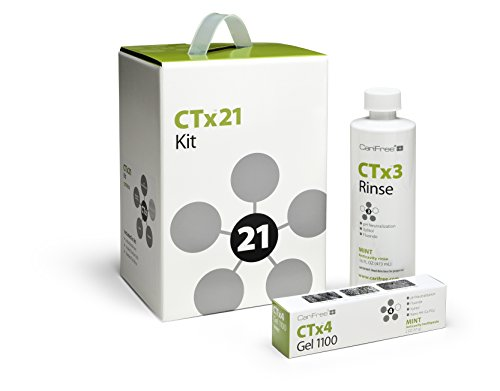 CariFree CTx21 3-Month Kit, (Over $95 Value!) Dentist Recommended, Anti-Cavity (Mint) by CariFree