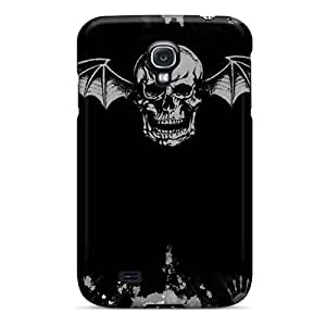 Scratch Resistant Hard Phone Case For Samsung Galaxy S4 With Customized Trendy Avenged Sevenfold Image AlainTanielian