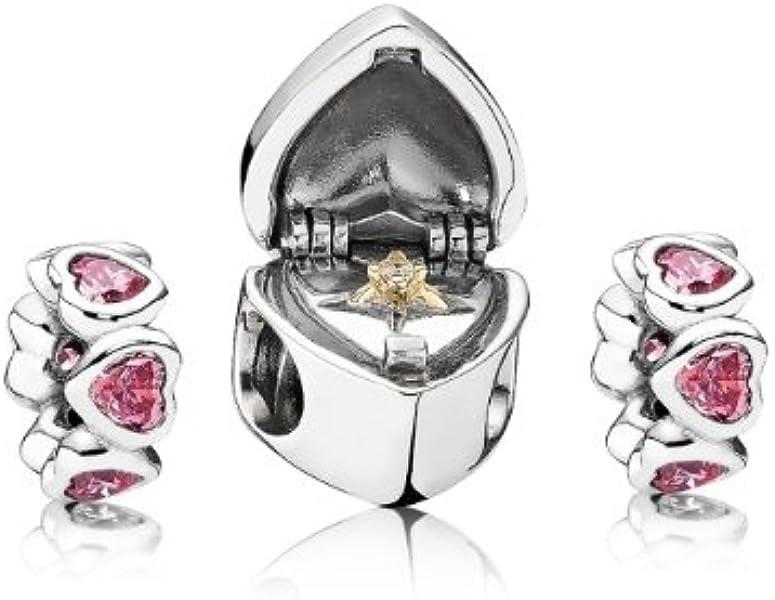c42bbb4b5 PANDORA Marry Me Charm Set BB90: Amazon.co.uk: Jewellery