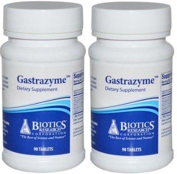Biotics Research Gastrazyme (Vitamin U Complex) 90t (180T)