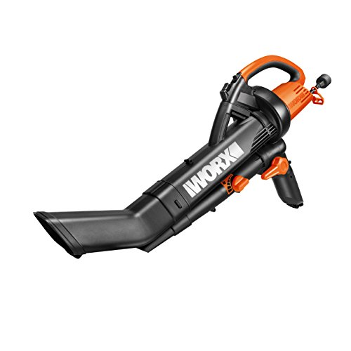 WORX WG502E Trivac 3 in 1 Electic Blower/Vac (Blower, Vacuum & Mulcher with Metal Impeller)