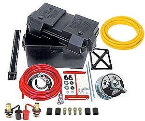 JEGS 10278K Deluxe Automotive/Marine Type Battery Relocation Kit by JEGS