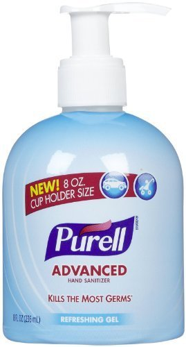 Advanced Cruiser Cup Holder Bottle, 8 oz by Purell