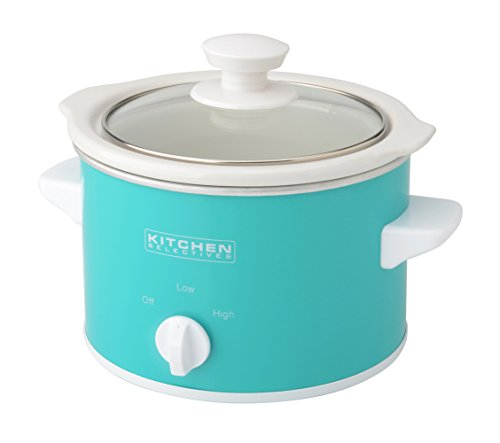 Kitchen Selectives Slow Cooker, 1.5-Quart, Turquoise For Sale