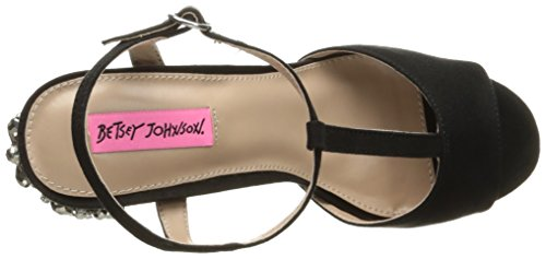 Betsey Johnson Womens Ferra Abito Sandalo Nero / Multi